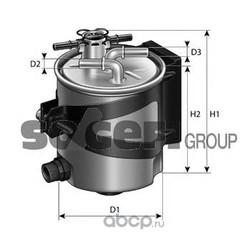 Фильтр топливный (PURFLUX) FCS750