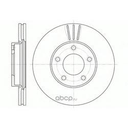 Тормозной диск (Remsa) 667110
