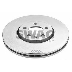 Диск тормозной передний вентилируемый (Swag) 30919370