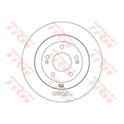 Тормозной диск (TRW/Lucas) DF7996