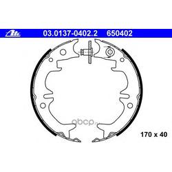 Комплект тормозных колодок, стояночная тормозная система (Ate) 03013704022