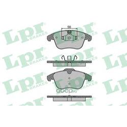 Комплект тормозных колодок, дисковый тормоз (Lpr) 05P1486