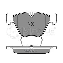 Комплект тормозных колодок, дисковый тормоз (Meyle) 0252334720