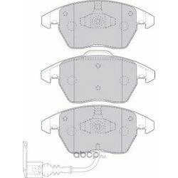 """Колодки тормозные дисковые передние, комплект """"Premier (Ferodo) FDB1641"""