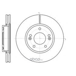 Тормозной диск (Remsa) 6120810