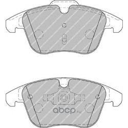 """Колодки тормозные дисковые передние, комплект """"Premier (Ferodo) FDB1897"""