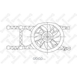 Вентилятор (Stellox) 2999012SX