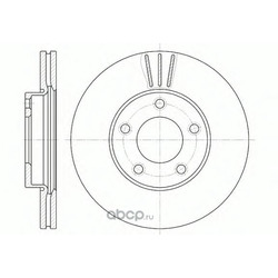 Тормозной диск (Road house) 667110