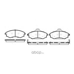 Комплект тормозных колодок, дисковый тормоз (Remsa) 031882