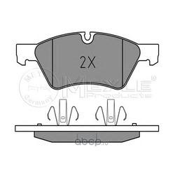 Комплект тормозных колодок, дисковый тормоз (Meyle) 0252392221