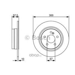 Диск тормозной (Bosch) 0986479410