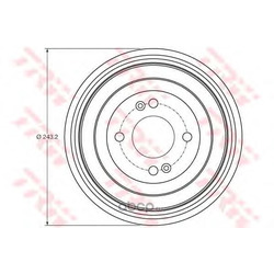 Тормозной барабан (TRW/Lucas) DB4422