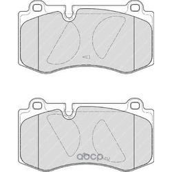 Комплект тормозных колодок, дисковый тормоз (Ferodo) FDB4055
