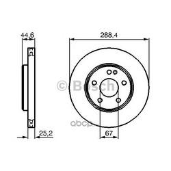 Тормозной диск (Bosch) 0986479234