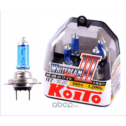 Лампа высокотемпературная Koito Whitebeam, комплект 2 шт. (KOITO) P0755W
