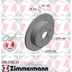 "Диск тормозной, ""Coat Z (Zimmermann) 590258520"