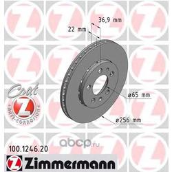 Тормозной диск (Zimmermann) 100124620