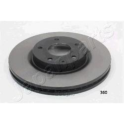 Диск тормозной передний вентилируемый (Japanparts) DI360