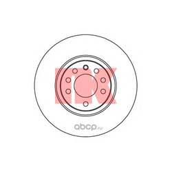 Диск тормозной пер. вент.NK (Nk) 203654