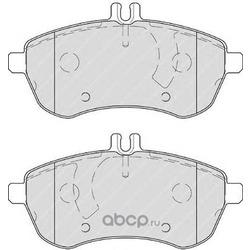 Комплект тормозных колодок, дисковый тормоз (Ferodo) FDB4199