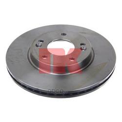 Диск тормозной вентилируемый (Nk) 203445