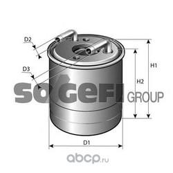 Топливный фильтр (PURFLUX) FCS785