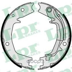 Комплект тормозных колодок, стояночная тормозная система (Lpr) 01062