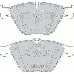 Комплект тормозных колодок, дисковый тормоз (Ferodo) FDB1628