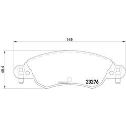 Колодки тормозные дисковые TEXTAR (Textar) 2327601