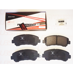 Колодки тормозные, комплект, передние (UBS) BP1105025