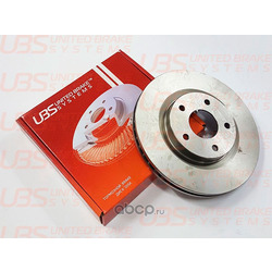 Диск тормозной V | перед | (UBS) B2105002