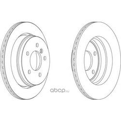 Тормозной диск (Ferodo) DDF1581