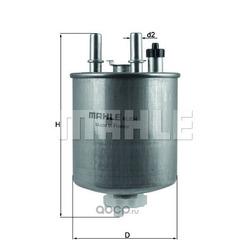 Топливный фильтр (Mahle/Knecht) KL834