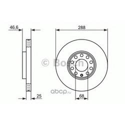 Диск (Bosch) 0986478546