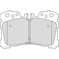 Комплект тормозных колодок, дисковый тормоз (Ferodo) FDB4277