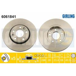Тормозной диск (Girling) 6061841