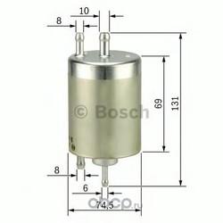 Топливный фильтр (Bosch) 0450915001