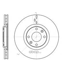 Тормозной диск (Remsa) 6105910