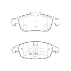Комплект тормозных колодок, дисковый тормоз (WAGNER) WBP24538A