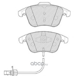 Комплект тормозных колодок, дисковый тормоз (Ferodo) FDB4045