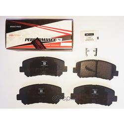 Колодки тормозные, комплект, передние (UBS) BP1112005