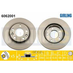 Тормозной диск (Girling) 6062001