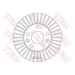 Тормозной диск (TRW/Lucas) DF6200