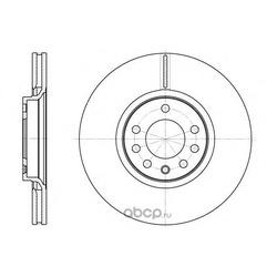 Тормозной диск (Remsa) 672910