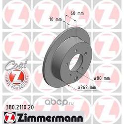 Тормозной диск (Zimmermann) 380211020