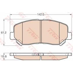 Комплект тормозных колодок (TRW/Lucas) GDB3562