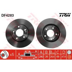 Купить тормозные диски Киа Спортейдж 2 (Hyundai-KIA) 517121F000