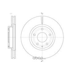 Тормозной диск (Remsa) 6152010