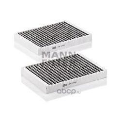 Фильтры салона комплект, угольные (MANN-FILTER) CUK27222