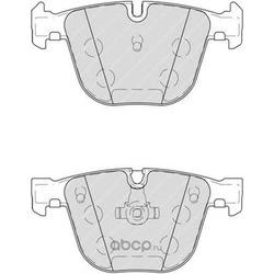 Комплект тормозных колодок, дисковый тормоз (Ferodo) FDB4259